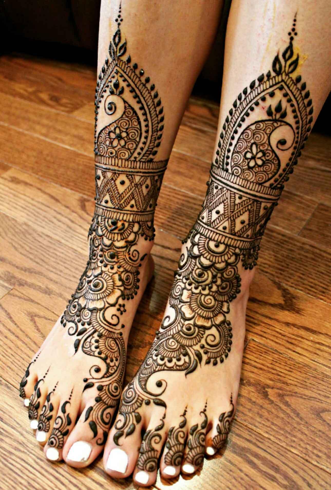 Hipster Mehndi Designs